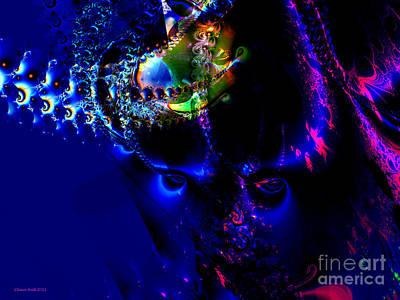 Digital Art - Alien Eyes by Claire Bull