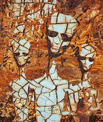 Paranormal Digital Art - Alien Fossil by Raphael Terra
