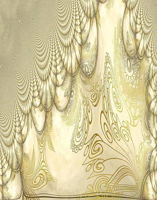 Photograph - Alien Gold Flow by Robert G Kernodle