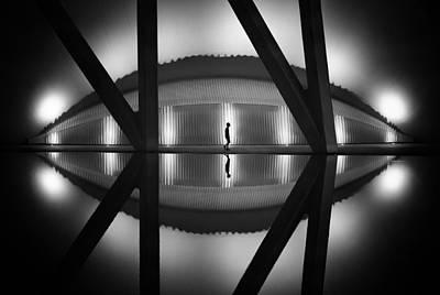 Alien Photograph - Alien by Juan Luis Duran