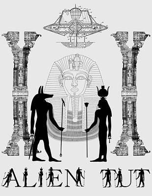 Photograph - Alien King Tut by Robert G Kernodle
