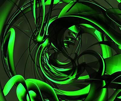 Alien Art Print by Libor Bednarik