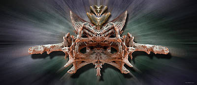 Photograph - Alien Presence by WB Johnston