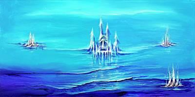 Painting - Alien Skies by David Junod