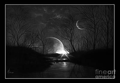Alien Skies Art Print by Murphy Elliott