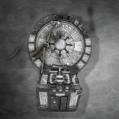 Photograph - Alien Spaceship Interior by Steven Greenbaum
