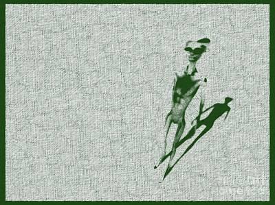 Fantasy Drawings - Alien Standing by Raphael Terra