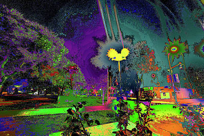 Photograph - Alien Station 1031 To The Sun by Kenneth James