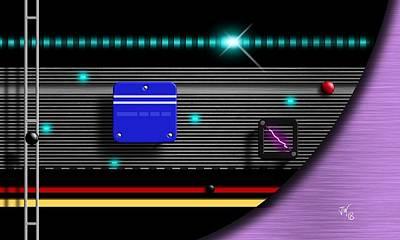 Digital Art - Alien Technology by John Wills