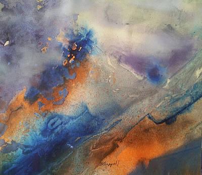 Alien Terrain Art Print