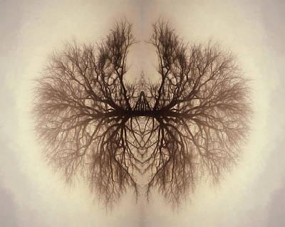 Digital Art - Alien Tree Spider by Lori Deiter