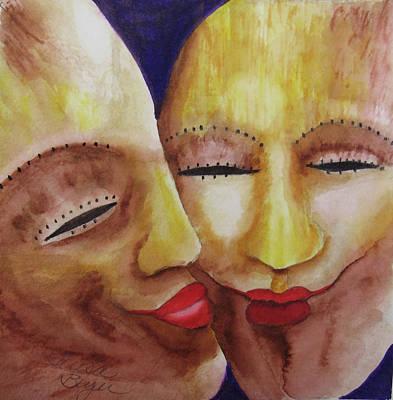 Painting - Aligned by Teresa Beyer