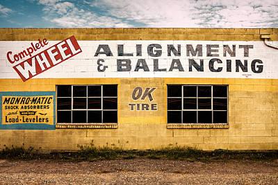 Alignment And Balancing Art Print