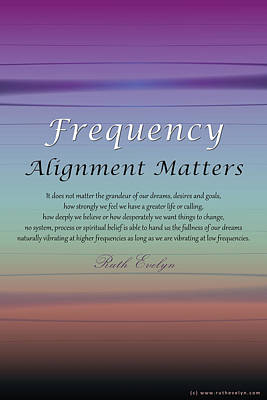 Digital Art - Alignment Matters by Ruth Evelyn
