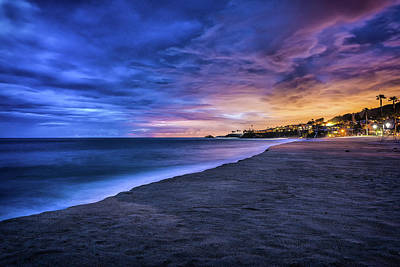 Photograph - Aliso Beach Lights by Jason Roberts