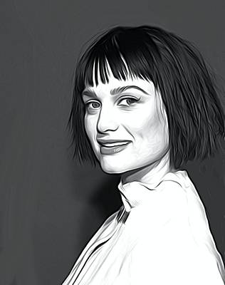 Christina Digital Art - Alison Sudol Art by Best Actors