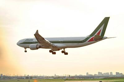 Photograph - Alitalia by Puzzles Shum