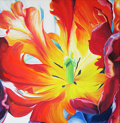 Painting - Alive by Karen Hurst