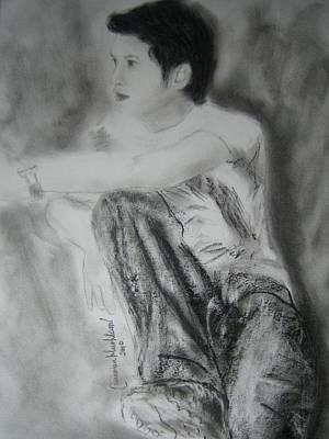 Drawing - Alive by Wanvisa Klawklean