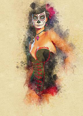 Digital Art - Aliza by Don Kuing