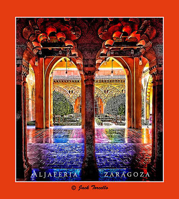 Art Print featuring the photograph Aljaferia Coloratura by Jack Torcello