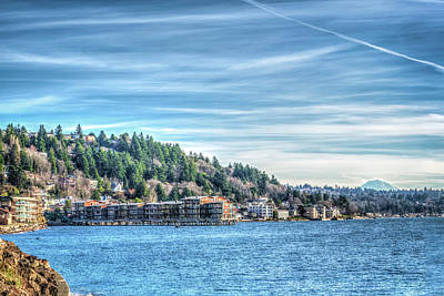 Photograph - Alki Beach by Spencer McDonald