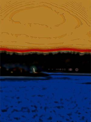 Navigation Digital Art - Alki Lighthouse by Tim Allen