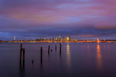 Anchor Down - Alki Sunrise by Andrew Lockwood