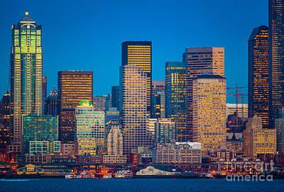 Tugboats Photograph - Alki View by Inge Johnsson