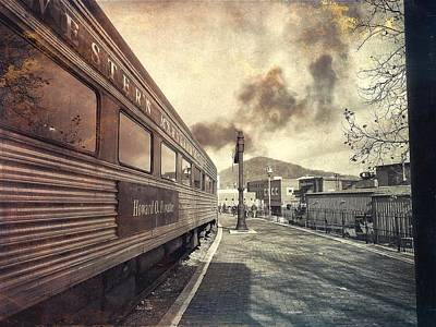 Photograph - All Aboard by Chris Montcalmo