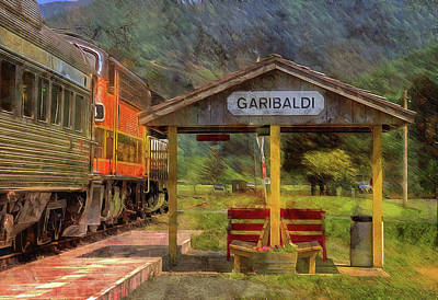Photograph - All Aboard In Garibaldi  by Thom Zehrfeld