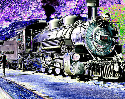 All Aboard Art Print by Peter  McIntosh