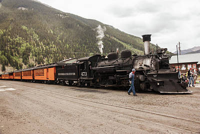 Photograph - All Aboard To Durango by Lon Dittrick