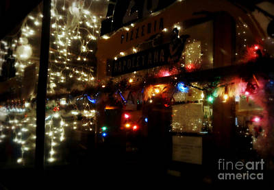 Photograph - All Aglow For Christmas - Holiday In New York by Miriam Danar