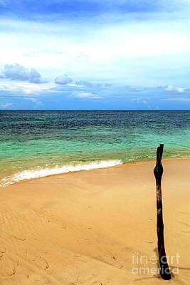 Photograph - All Alone At Isla Zapatillas Panama by John Rizzuto