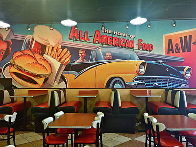 Photograph - All American Food by Denise Mazzocco