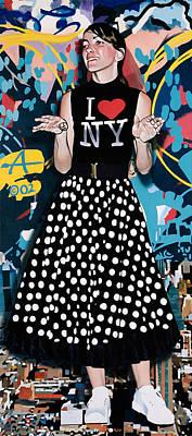 All American Girl Art Print