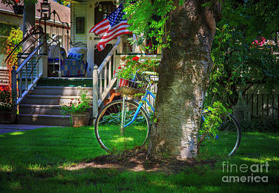 Photograph - All American Summer Bicycle by Craig J Satterlee