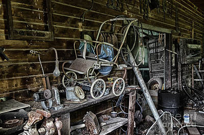 Mess Photograph - All But Forgotten by Bob Christopher