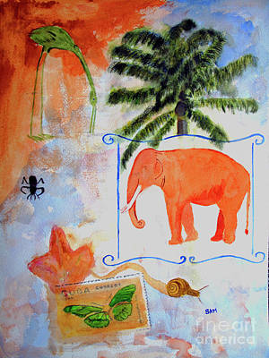 Painting - All Creatures Great And Small by Sandy McIntire