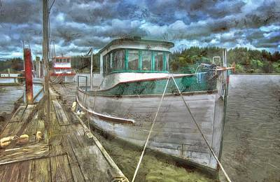 Photograph - All Docked Up by Thom Zehrfeld