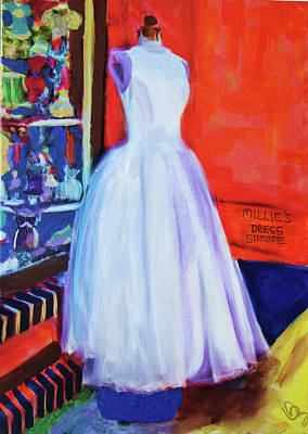 Painting - All Dressed Up And Nowhere To Go by Deborah Boyd