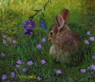 Painting - All Ears by Denise Wagner