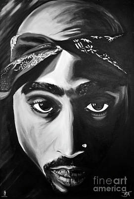 Hiphop Painting - All Eyes On Me by Jamie Rodgers