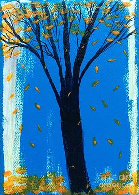 Painting - All Fall Down by Nancy Pace