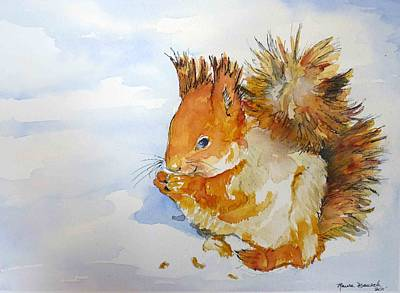 Art Print featuring the painting All God's Creatures by P Maure Bausch