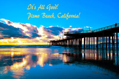 Pismo Beach Painting - All Good Pismo Beach California by Barbara Snyder