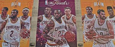 Lebron Photograph - All In by Frozen in Time Fine Art Photography