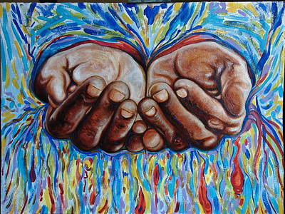 Painting - All In Your Hands by Emery Franklin