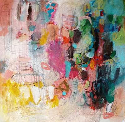 Painting - All Jumbled Up by Wendy Mcwilliams